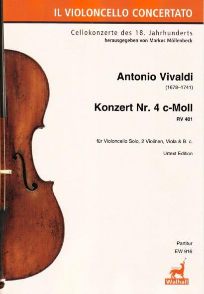 Vivaldi, Antonio (1678–1741): Concert No. 4 C Minor RV 401