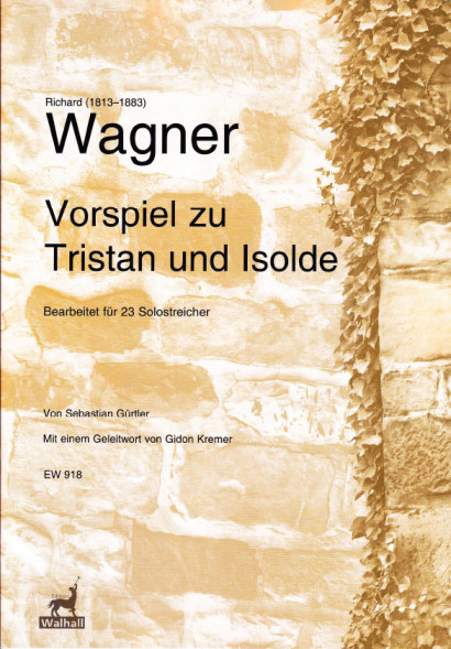 Wagner, Richard (1813–1883): Vorspiel zu Tristan und Isolde - Score