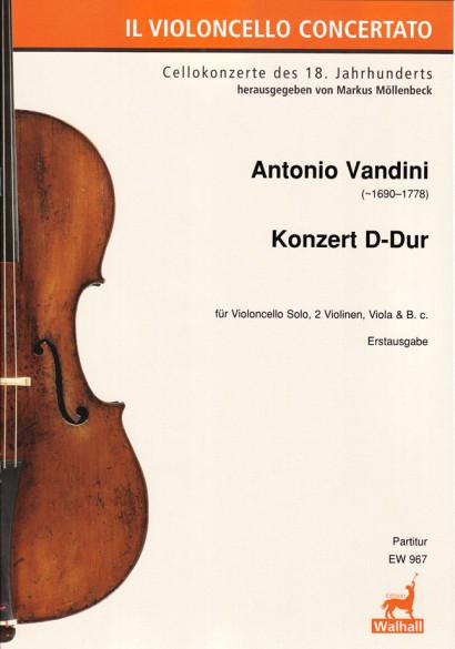 Vandini, Antonio (~1690–1778): Concert D Major