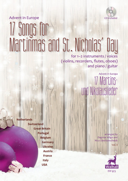 Advent in Europe: 17 Songs for Martinmas and St. Nicholas' Day