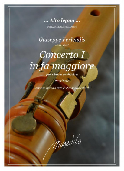 Ferlendis, Giuseppe (1755–1810): Concerto I in F Major<br>Score and parts