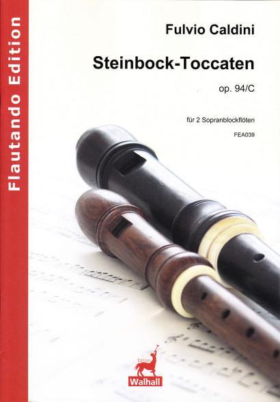 Caldini, Fulvio (*1959):Steinbock-Toccaten op. 94/C