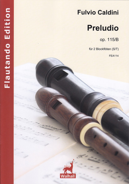 Caldini, Fulvio (*1959):Preludio op. 115/B