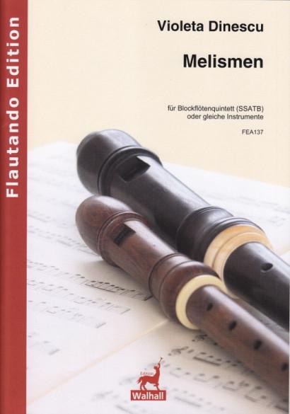 Dinescu, Violetta (*1953):Melismen