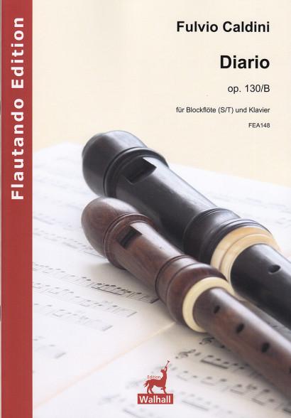 Caldini, Fulvio (*1959):Diario op. 130/B