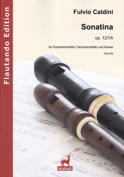 Caldini, Fulvio (*1959): Sonatina op. 127/A