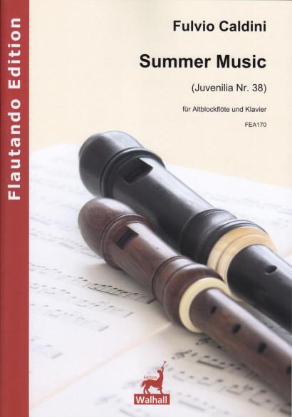 Caldini, Fulvio (*1959): Summer Music (Juvenilia Nr. 38)