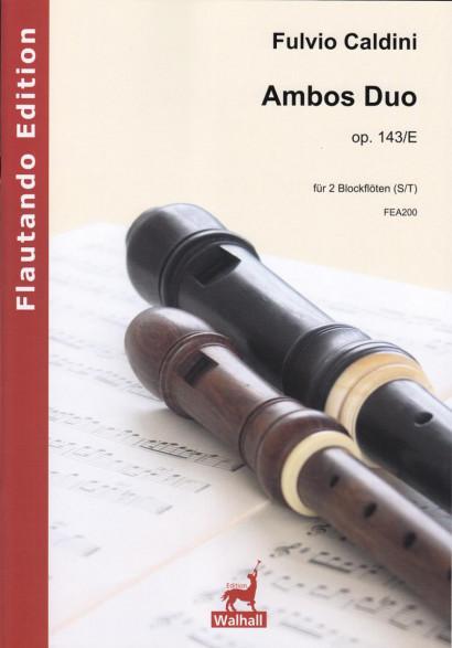 Caldini, Fulvio (*1959): Ambos Duo op. 143/E