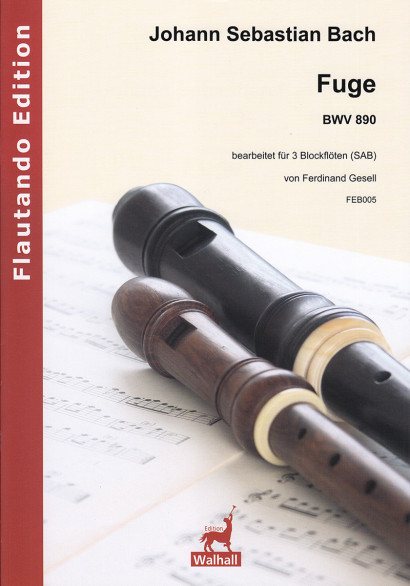 Bach, Johann Sebastian (1685– 1750): Fuge BWV 890
