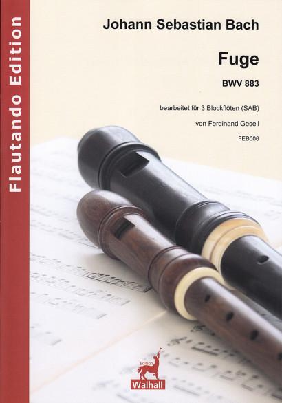Bach, Johann Sebastian (1685–1750): Fuge BWV 883