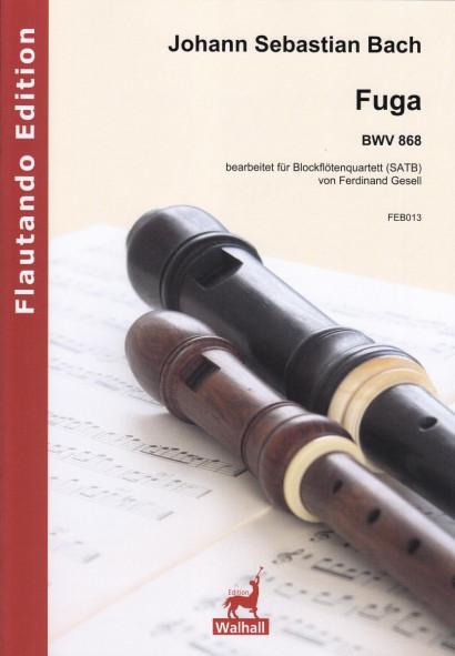 Bach, Johann Sebastian (1685–1750): Fuga BWV 868