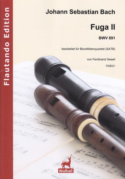 Bach, Johann Sebastian (1685–1750): Fuga II BWV 891