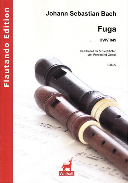 Bach, Johann Sebastian (1685–1750): Fuga BWV 849