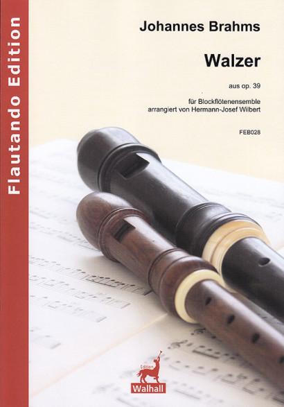Brahms, Johannes (1833–1897):Walzer