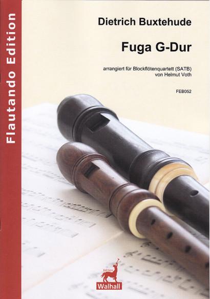 Buxtehude, Dietrich (1637–1707): Fuga G-Dur