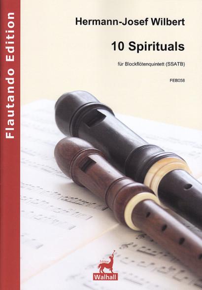 Wilbert, Hermann-Josef (*1933): 10 Spirituals