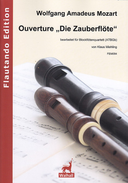 "Mozart, Wolfgang Amadeus (1756–1791): Ouverture from ""The Magic Flute"""