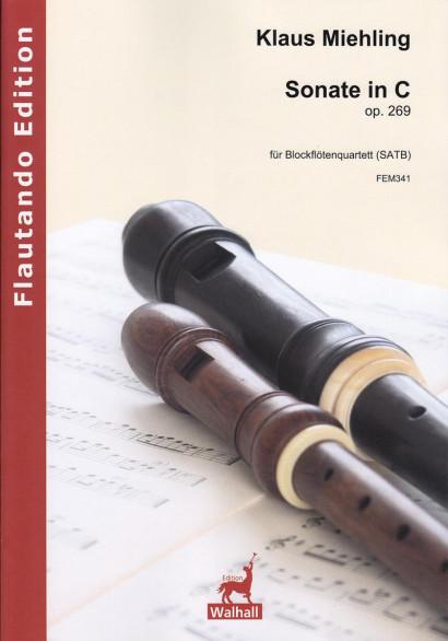 Miehling, Klaus (*1963): Sonate in C op. 269