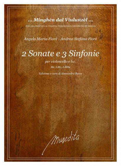 Fioré, Angelo Maria (1660–1723) – Fioré, Andrea Stefano: 2 Sonate e 3 Sinfonie