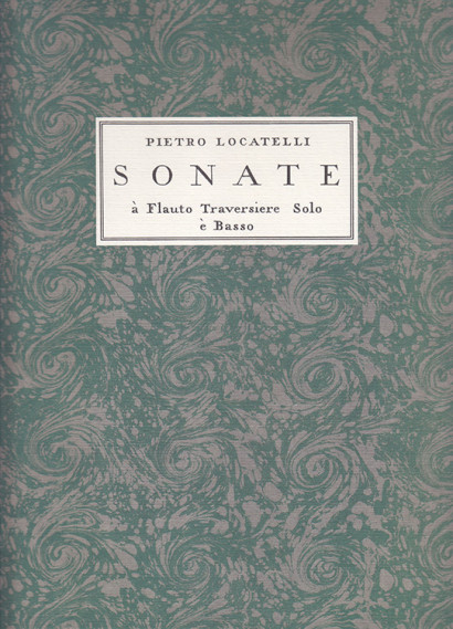 Locatelli, Pietro (1695–1764): XII Sonate op. 2