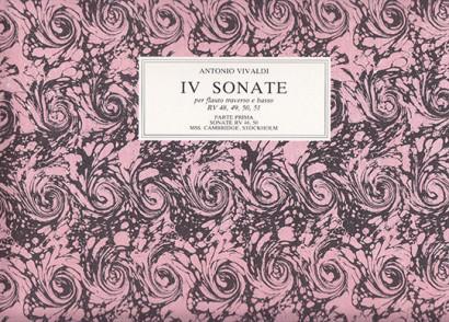 Vivaldi, Antonio (1678–1741): IV Sonate
