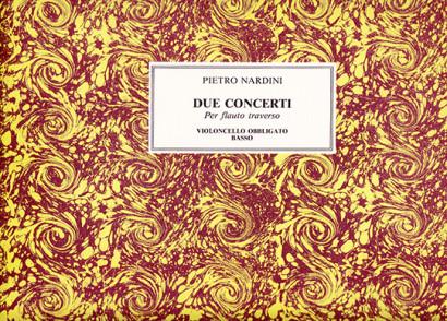 Nardini, Pietro (1722–1793):Due Concerti