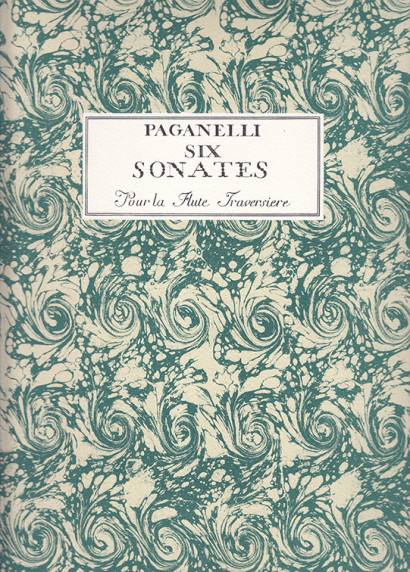 Paganelli, Giuseppe Antonio (1710–c.1763): Six Sonates op. 16