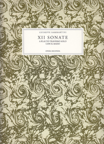 Sammartini, Giuseppe (~1693– 1751): XII Sonate op. 2