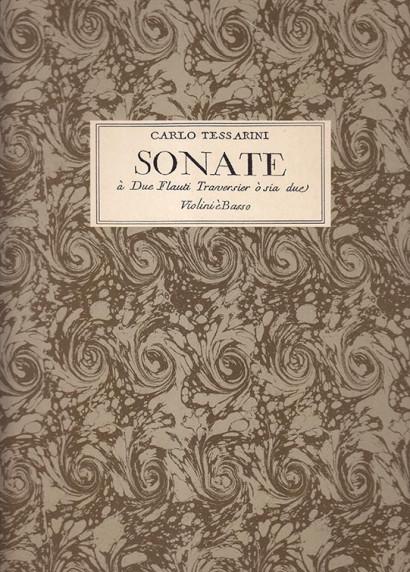 Tessarini, Carlo (~1690–1766):VI Sonate op. 12