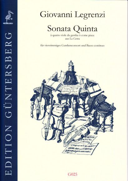 Legrenzi, Giovanni (1626-1690): Sonata Quinta