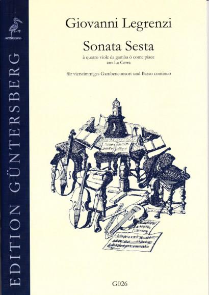 Legrenzi, Giovanni (1626-1690): Sonata Sesta