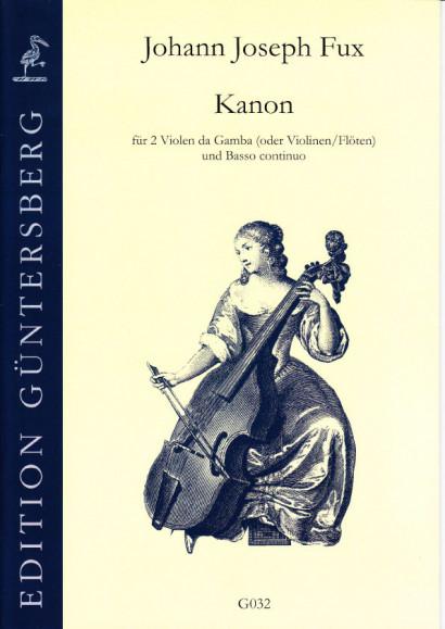 Fux, Johann Joseph (1660-1741): Kanon