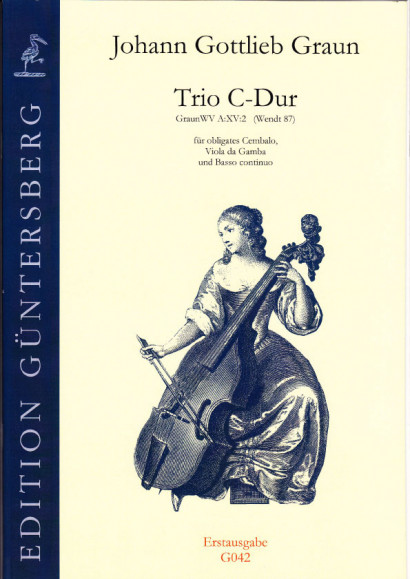 Graun, Johann Gottlieb (1701/02-1771): Trio C major, Wendt 87