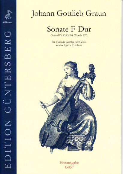 Graun, Johann Gottlieb (1701/02-1771): Trio F-Dur, Wendt 107