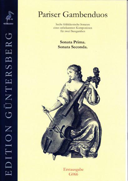 Pariser Gambenduos (1750):<br>- Sonatas I and II