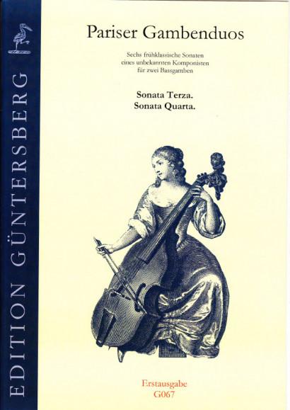 Pariser Gambenduos (1750):<br>- Sonatas III and IV