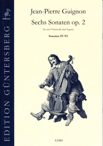 Guignon, Jean-Pierre (1702-1774): Six Sonatas op. 2<br>- Sonatas IV-VI