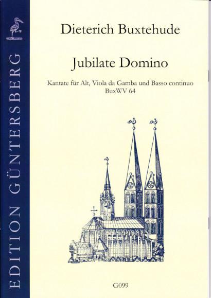 Buxtehude, Dieterich (1637-1707): Jubilate Domino