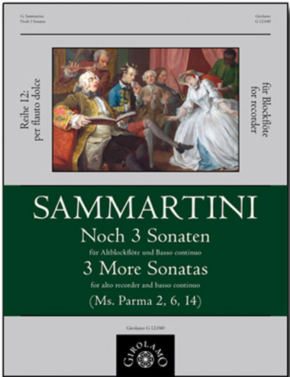 Sammartini, Giuseppe (1695–1750): Noch 3 Sonaten