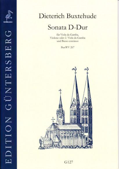 Buxtehude, Dieterich (1637-1707): Sonata D-Dur BuxWV 267