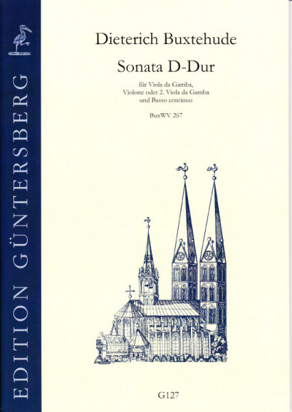 Buxtehude, Dieterich (1637-1707): Sonata D major BuxWV 267'