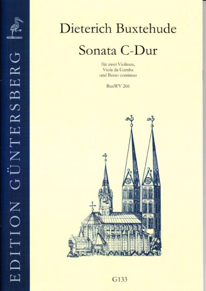 Buxtehude, Dieterich (1637-1707): Drei Sonaten<br>- Sonata C-Dur