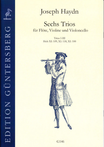 Haydn, Joseph (1732-1809): Sechs Trios<br>- No. I-III, No. 100, 109, 118