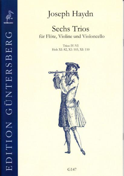 Haydn, Joseph (1732-1809): Sechs Trios<br>- No. IV-VI, No. 82, 103, 110