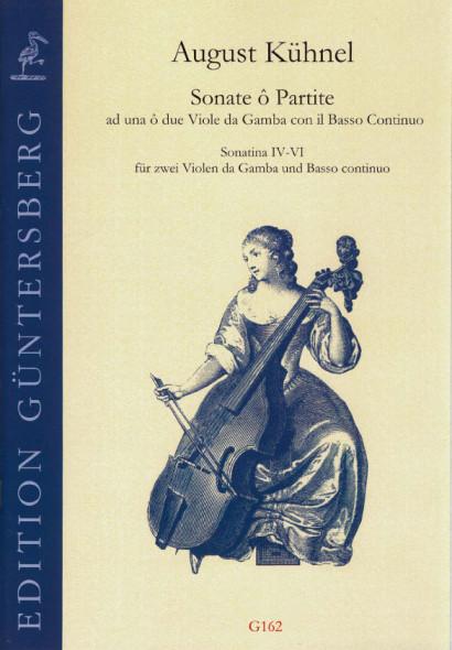 Kühnel, August (1645-~1700): Sonate ô Partite: Sonatina IV-VI<br> - Partitur & Simmen