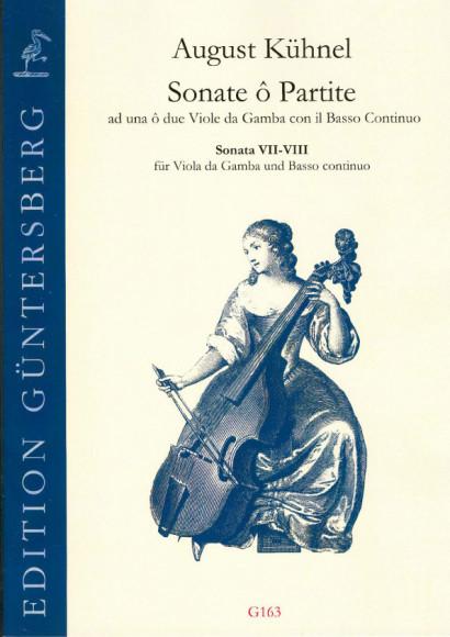 Kühnel, August (1645-~1700): Sonate ô Partite: Sonata VII-VIII<br>- Partitur & Simmen (inklusive Aussetzung)
