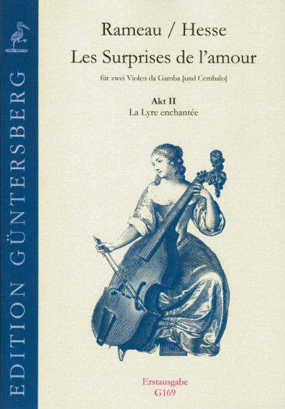 Rameau, Jean-Philippe (1683–1764)/Hesse, Ludwig Christian: Les Surprises de l'amour<br>- Akt 2