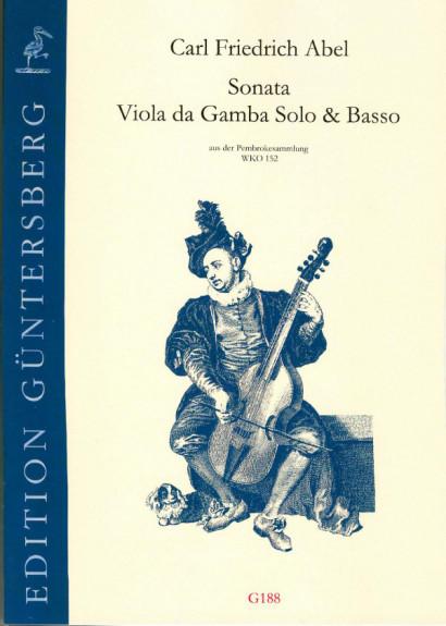 Abel, Carl Friedrich (1732-1787): Sonata G-Dur