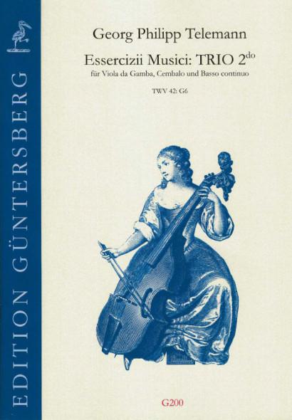 Telemann, Georg Philipp (1681-1767): Essercizii Musici: TRIO 2do