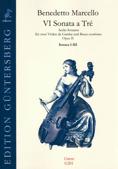 Marcello, Benedetto (1686-1739): VI Sonata a Tré op. 2<br>- Sonatas No. 1-3